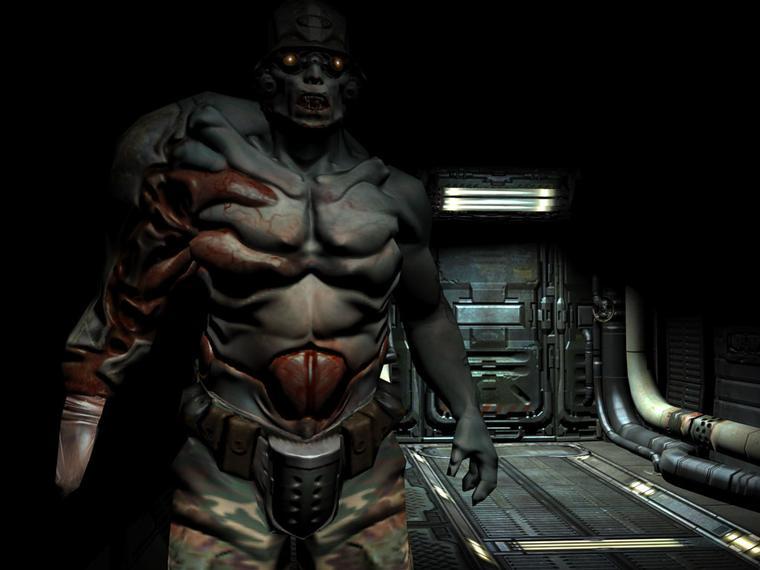 DOOM III: бывший солдат