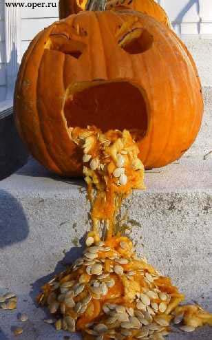 После тяжёлого Хеллоуина