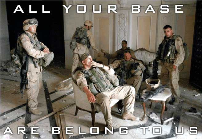 All Your Base Are Belong to Us!!!