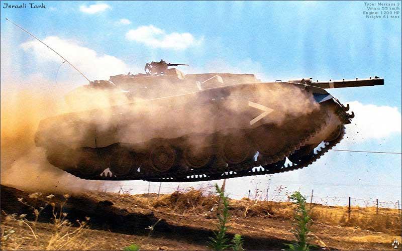 Налетели еврейские танки