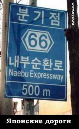 Корейские дороги