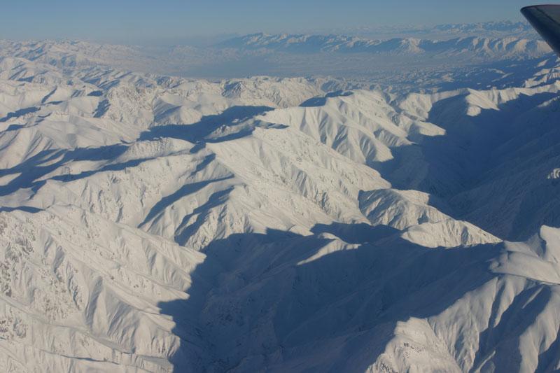 Пролетая над знойной Кыргызыей