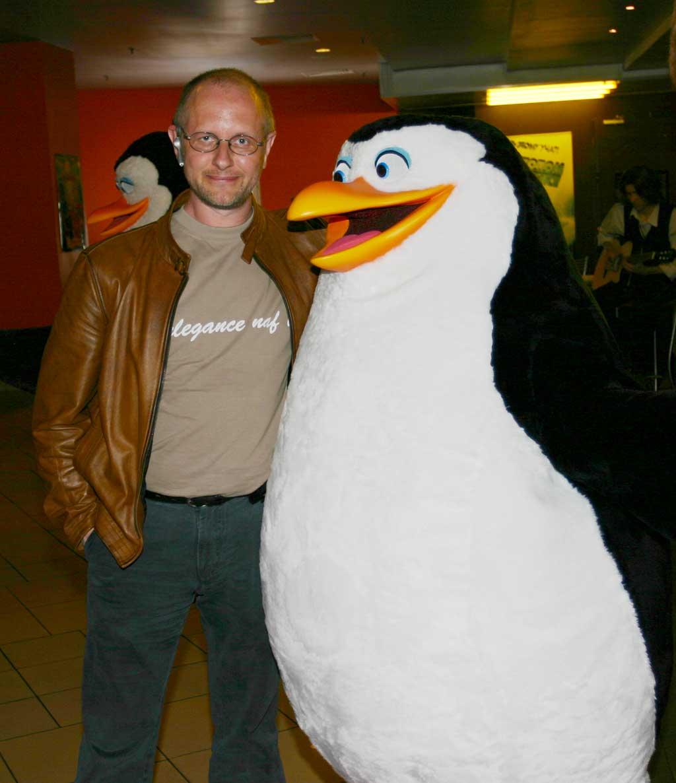 Мы с пингвином