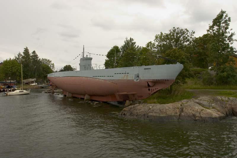 Финская подводная лодка Vesikko