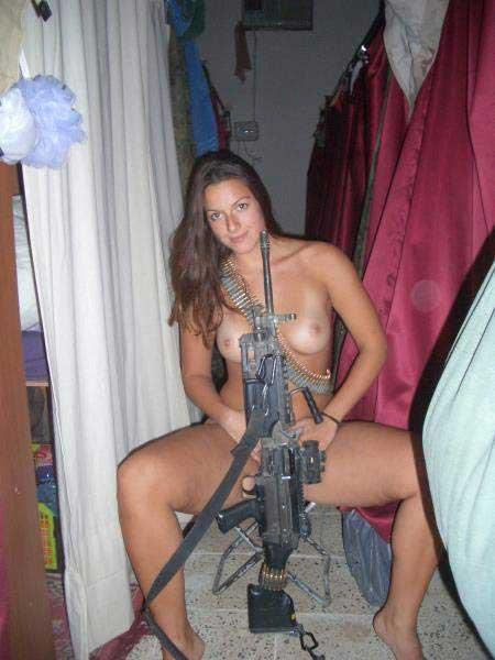 Пулемётчица   [R]