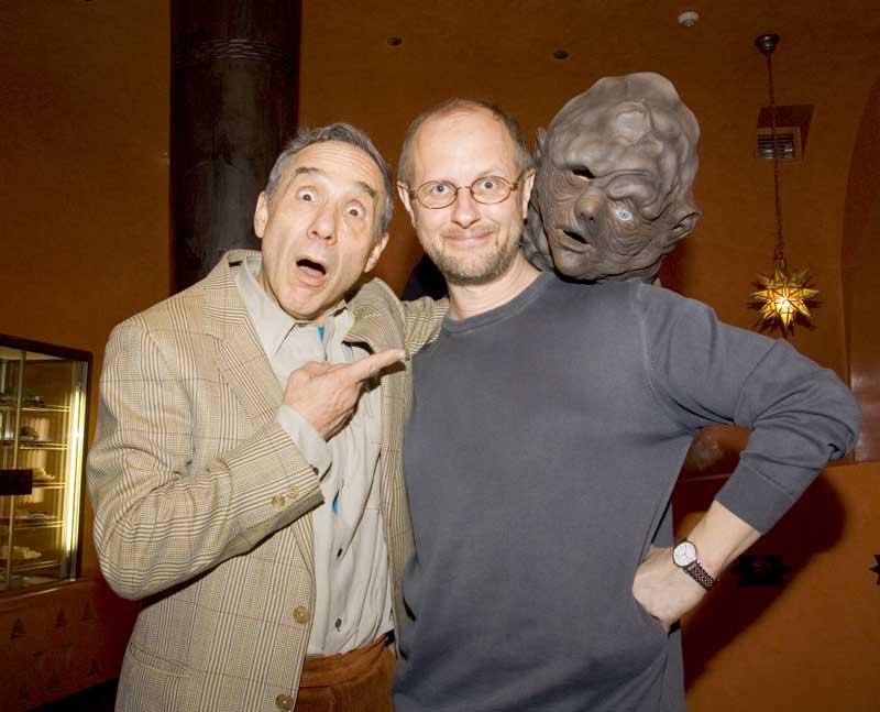 Ллойд Кауфман и мы с Токсик Авенджером