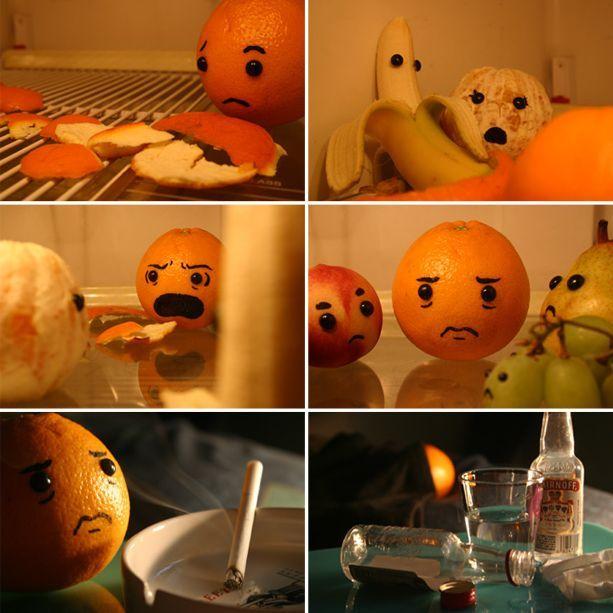 История апельсина