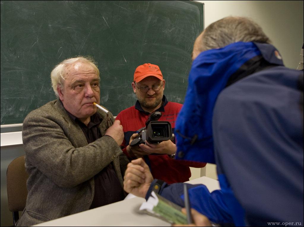Владимир Буковский в ЛГУ