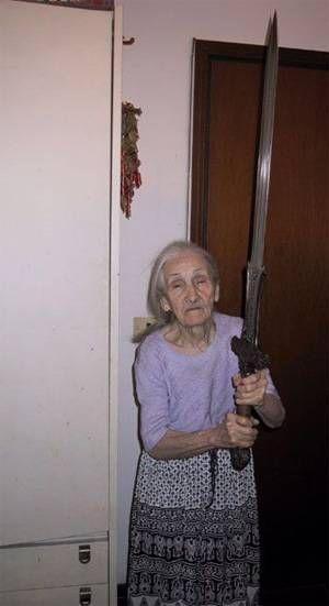 Бабушка эльфа