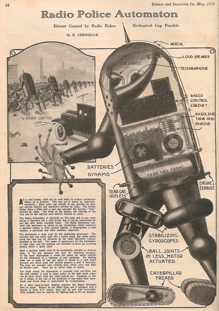 Демократический робот