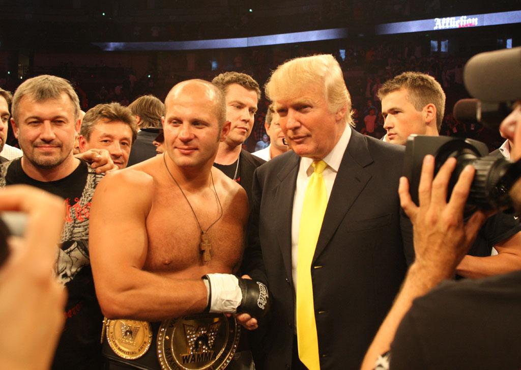 Фёдор Емельяненко и Дональд Трамп