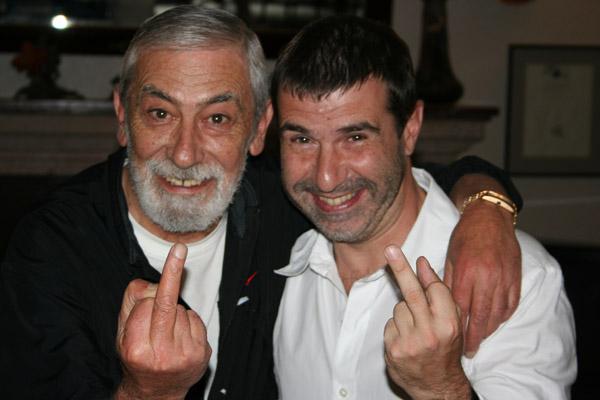 Вахтанг Кикабидзе и Евгений Гришковец