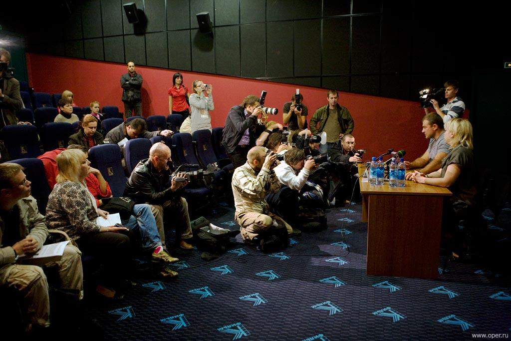 Прессконференция с Михаилом Пореченковым