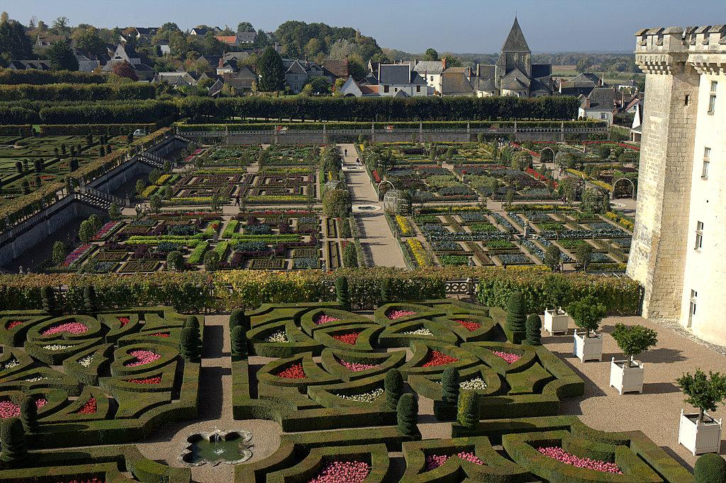Садово-огородный замок Вилландри