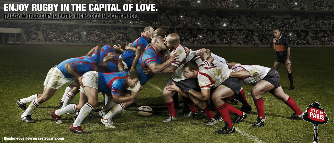 Регби в столице любви