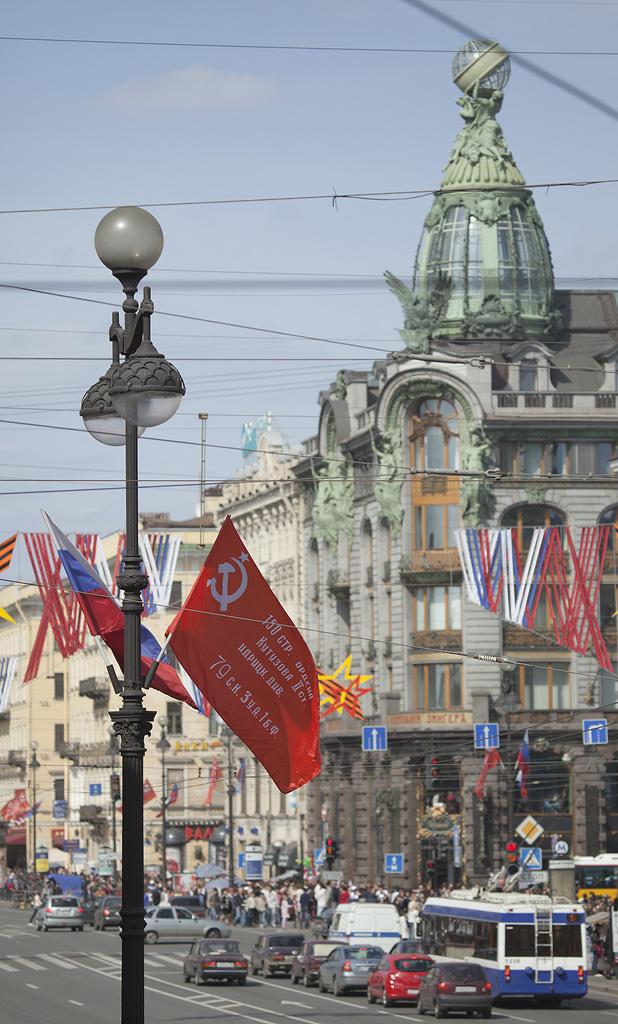 День Победы на Невском