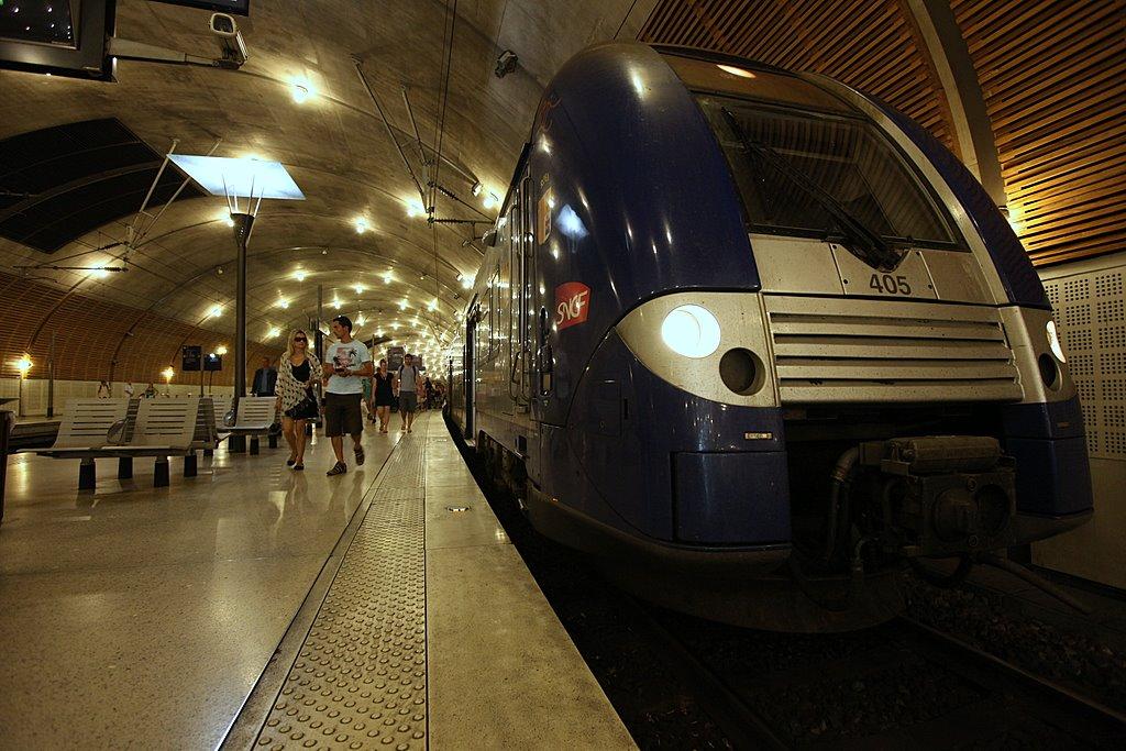 Вокзал в Монако