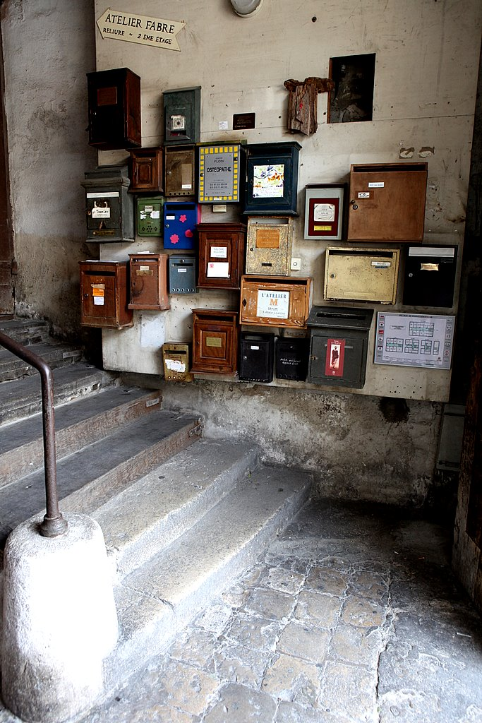 Марсельские почтовые ящики