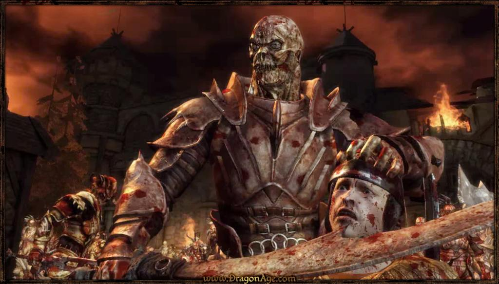 Скриншот из Dragon Age