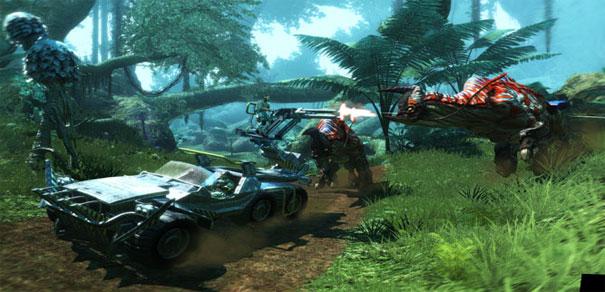 Скриншот из игры «Аватар»