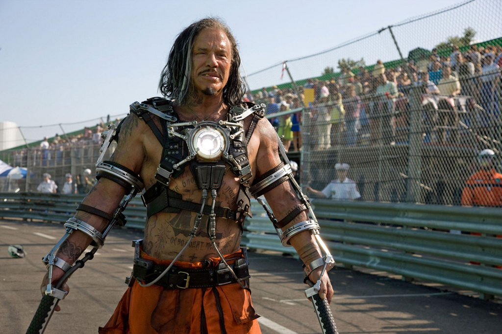 «Железный человек 2»: Микки Рурк, герой Whiplash