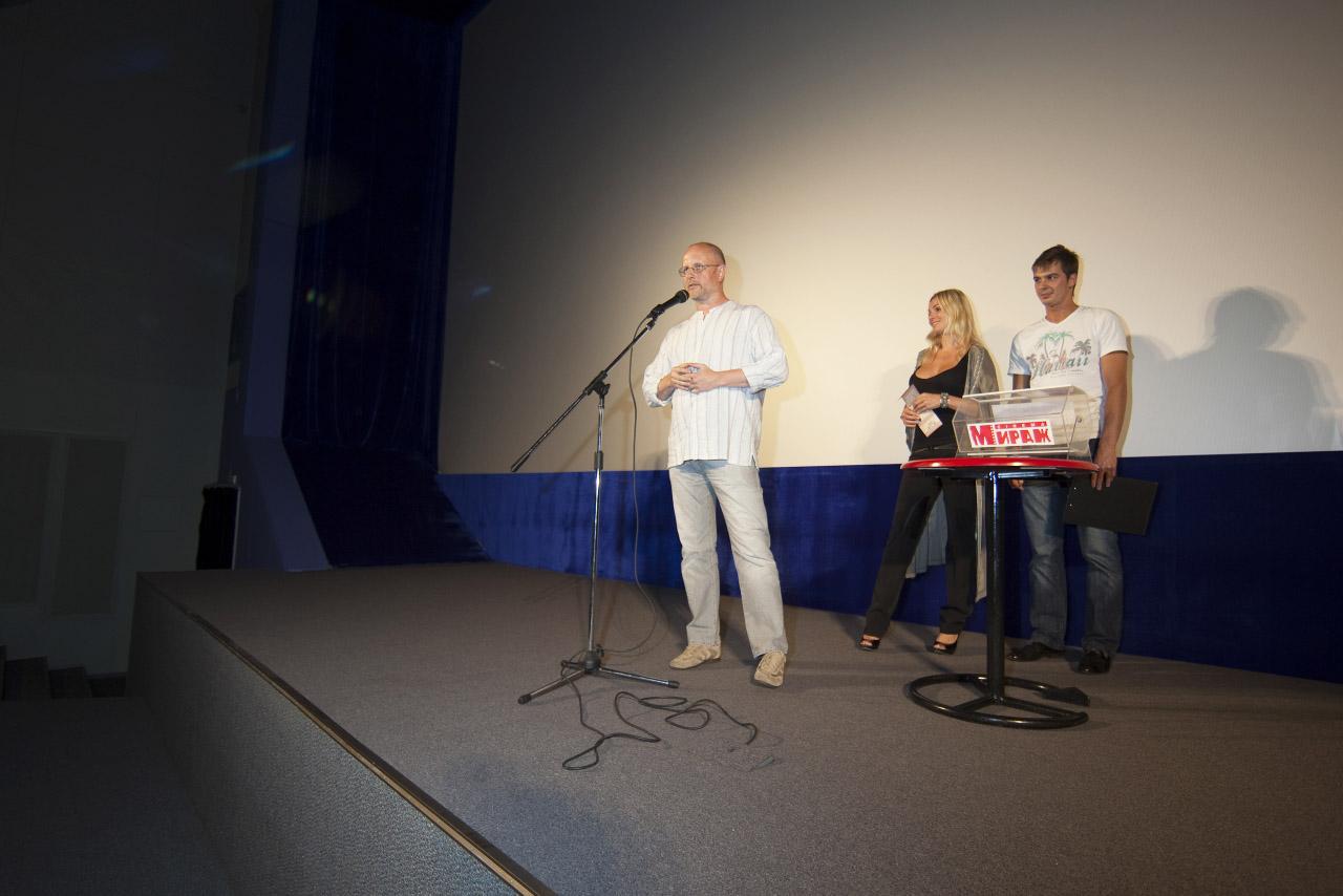 Премьера Бесславных ублюдков в Мираже (с) местный