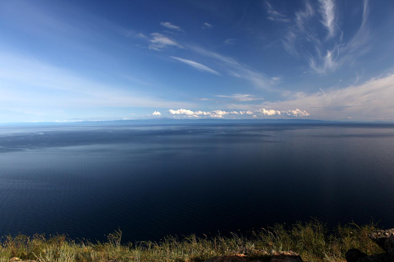 Байкальское небо, вид с горы