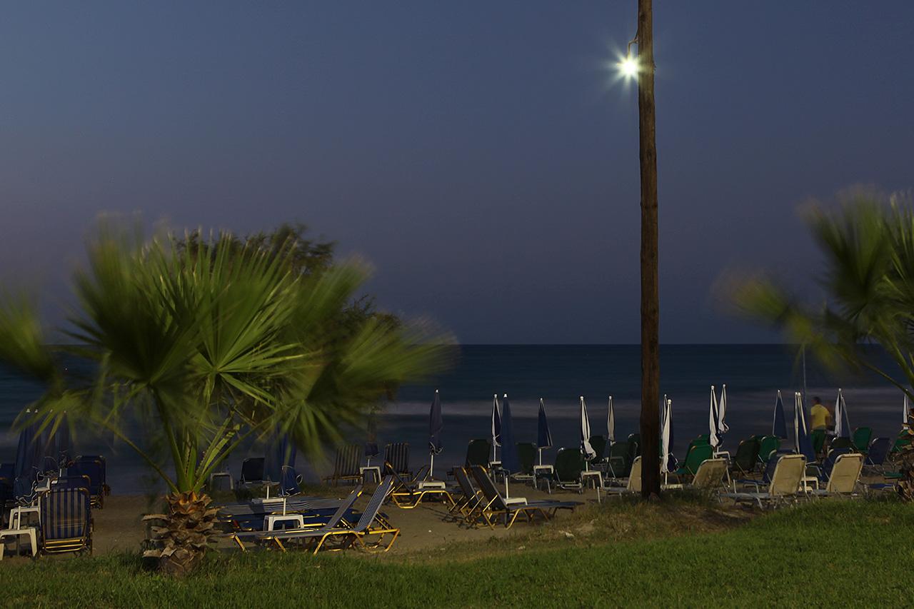 Пляж в ночи