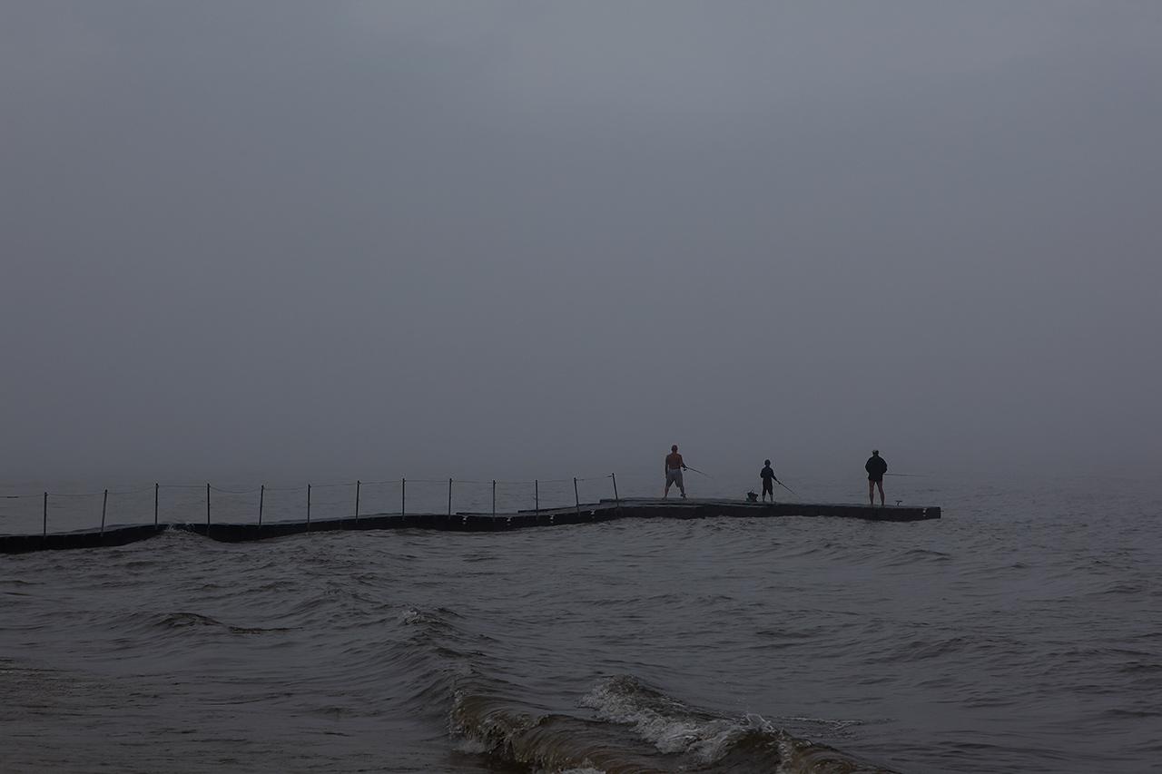 Рыбалка во мгле