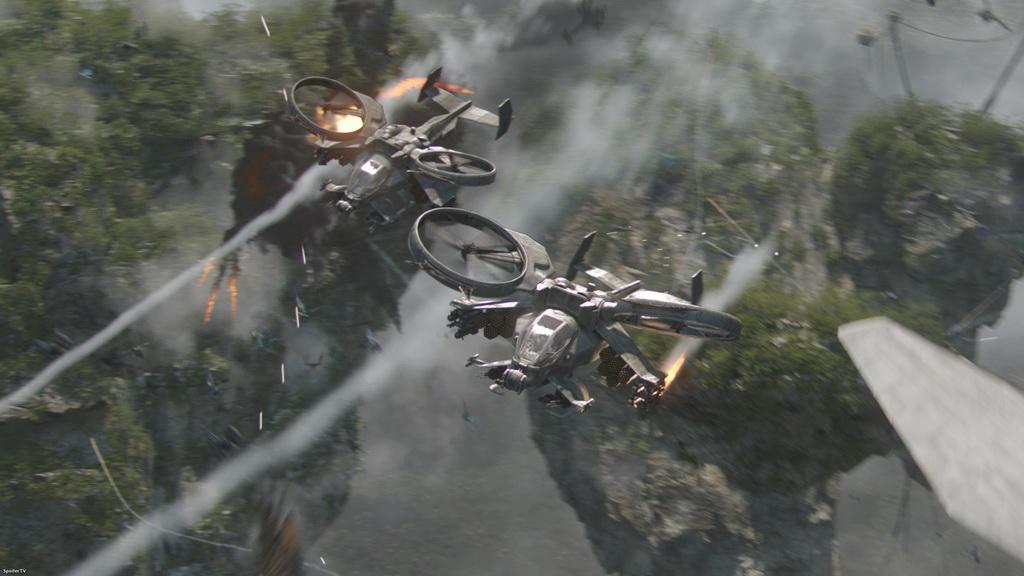 «Аватар», бой ведут ударные вертолёты AH-19 Scorpion