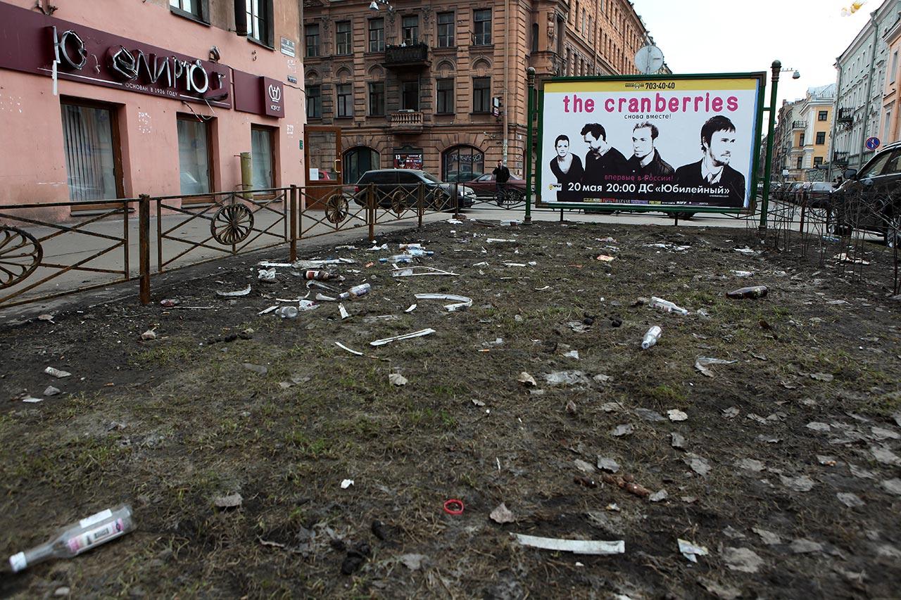 Весна на улице Достоевского