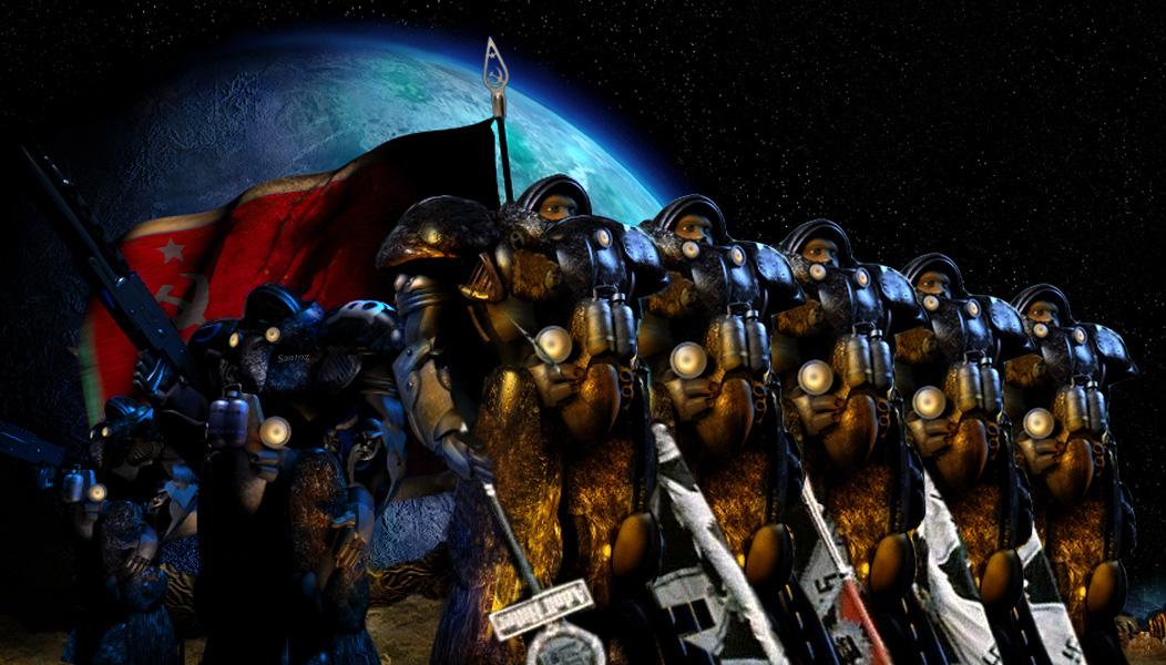 Ужасы StarCrafta (c) Archie Santoz
