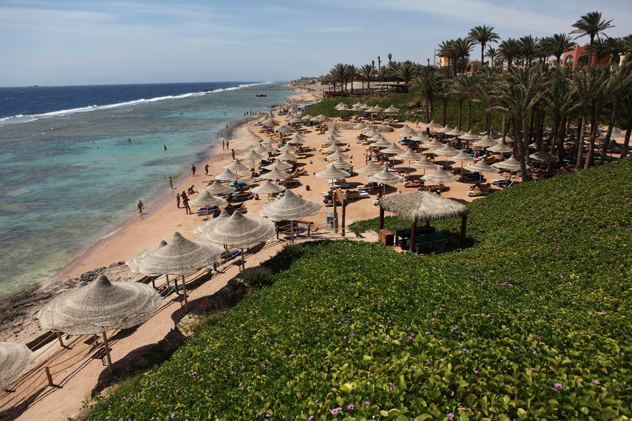 Пляж отеля Nubian Island