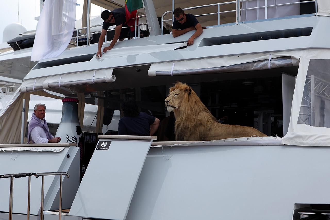 Богатая яхта