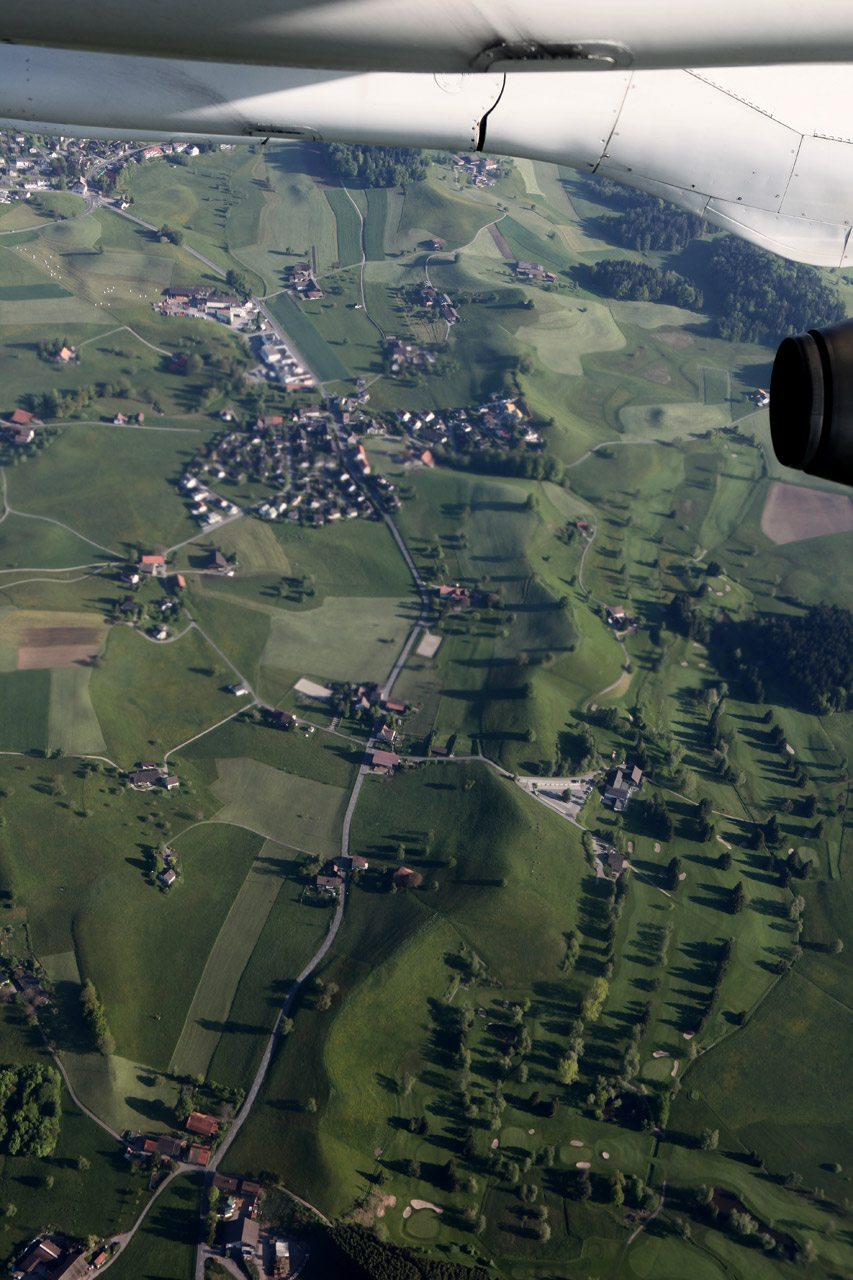 Подлетая к Цюриху
