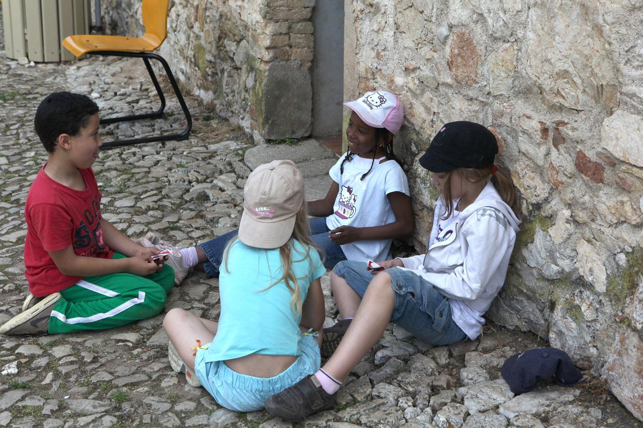 Дети с острова Святой Маргариты