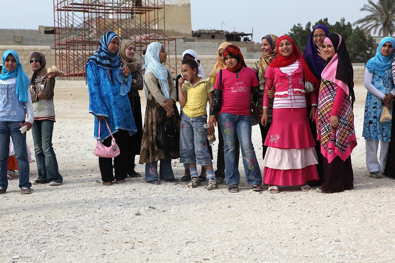 Египетские школьницы
