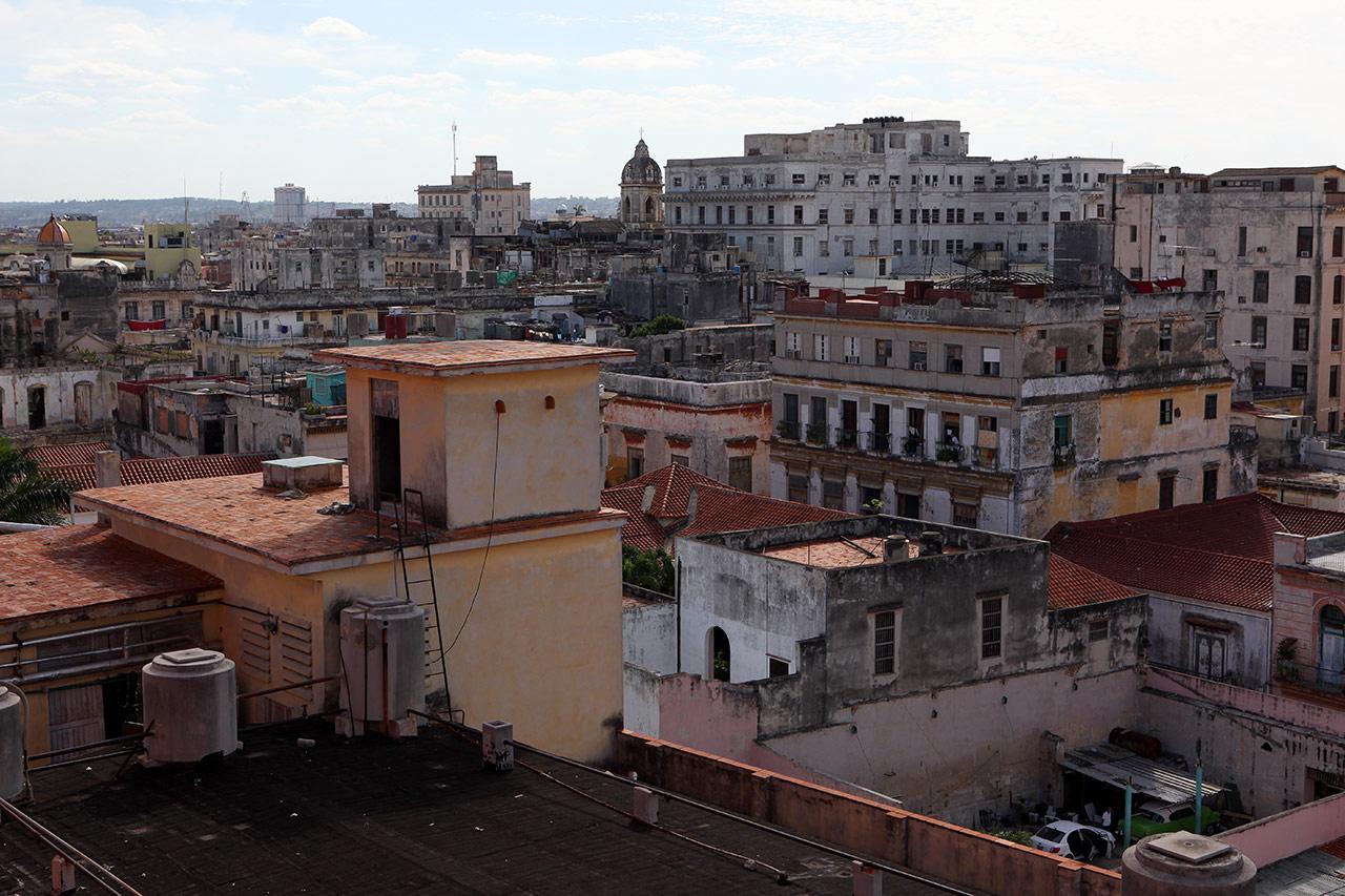 Вид с крыши отеля Ambos Mundos
