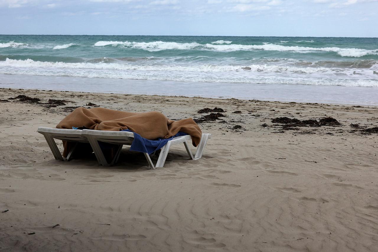 С утра на пляже