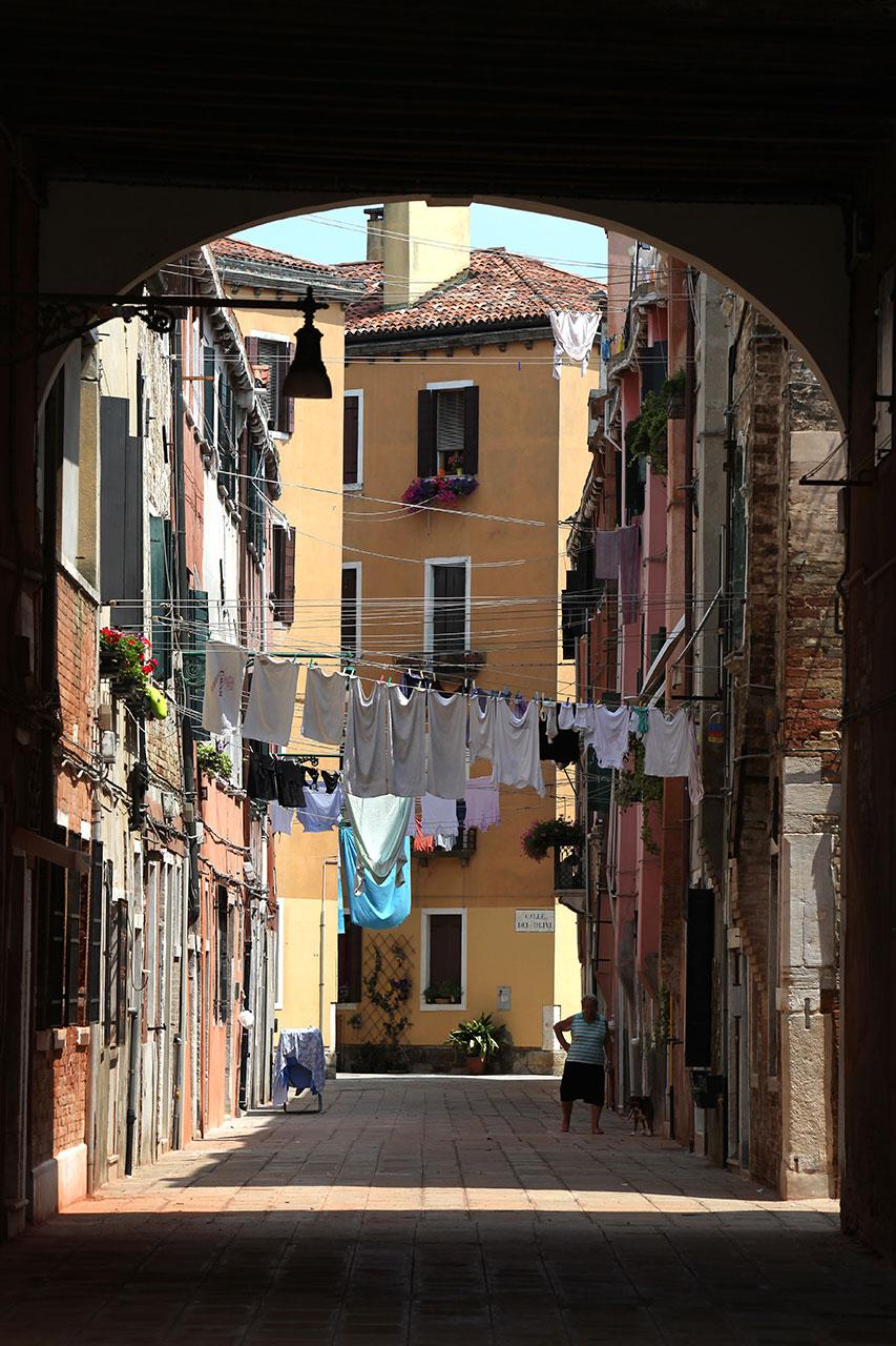 Венецианская подворотня