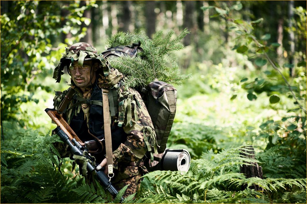 Про снайпера с позывным «Боб» © onepamop