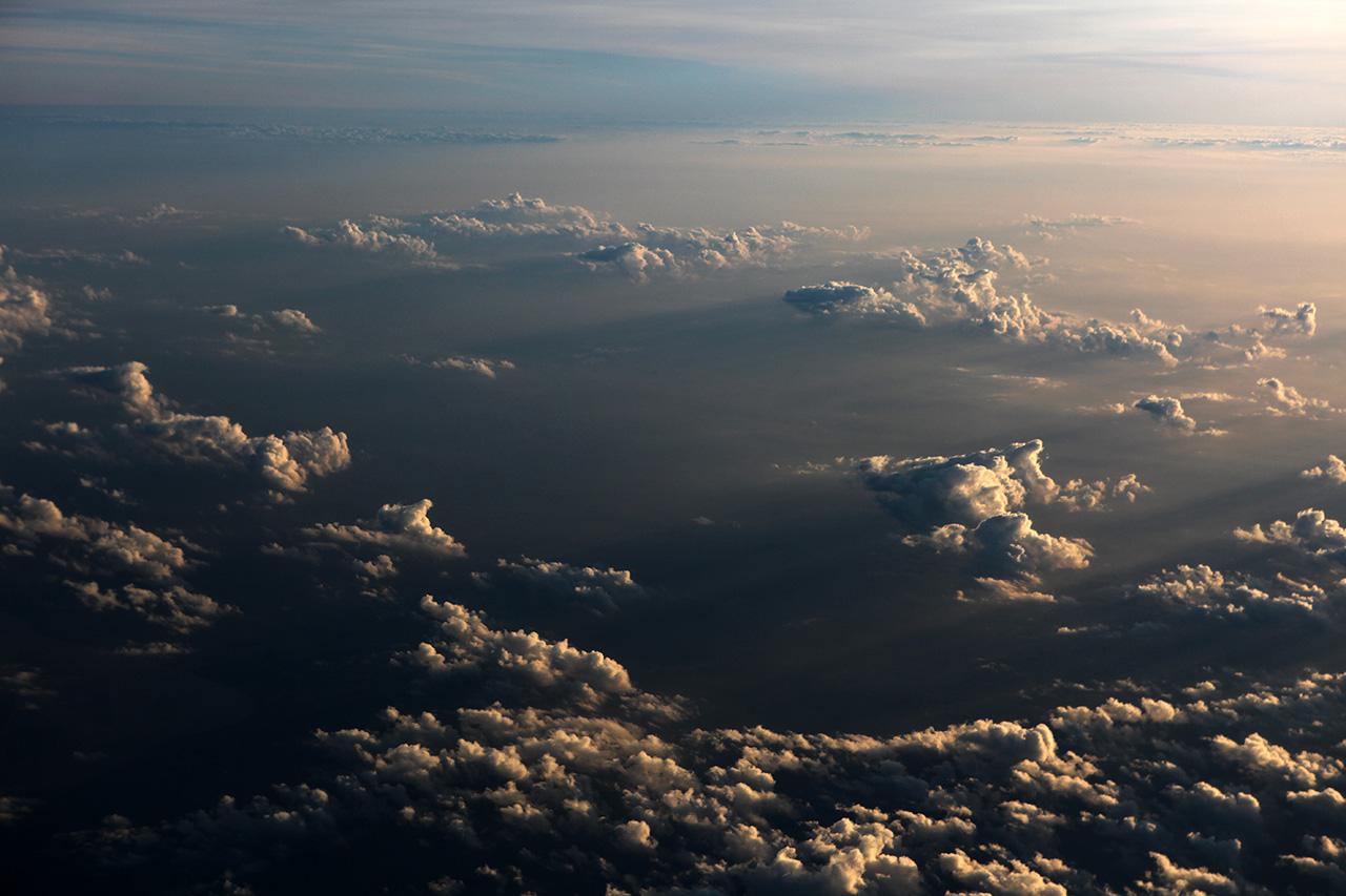 Тенистые индокитайские облака