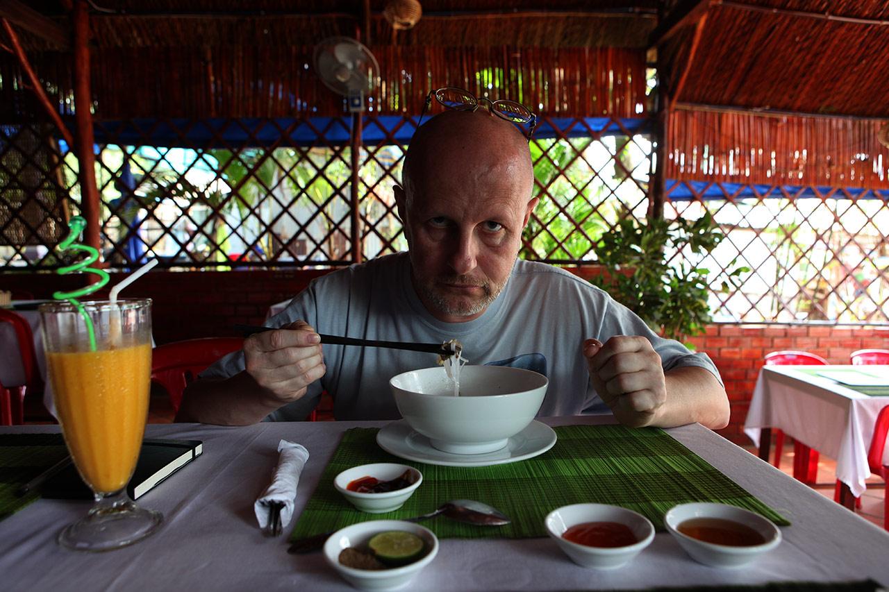 Вьетнамский суп фо бо прекрасен