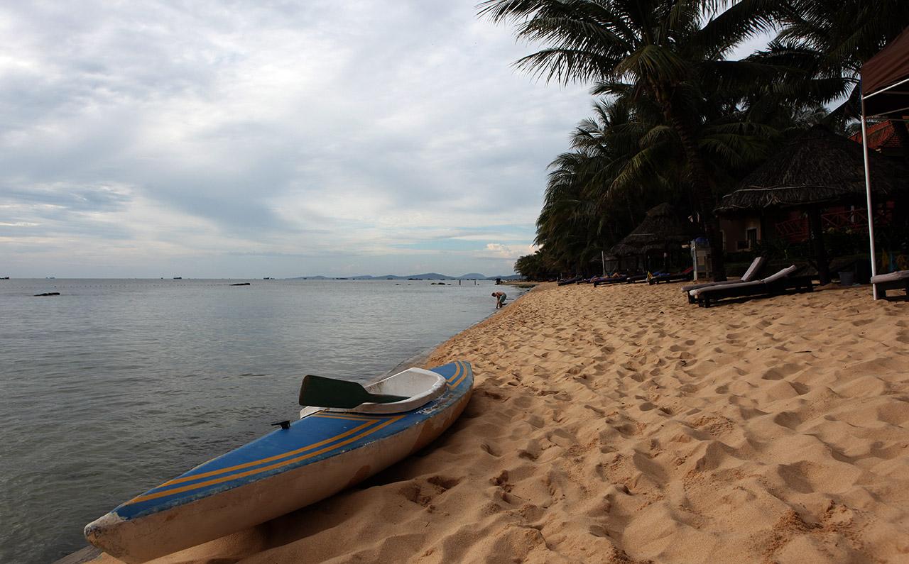 Вьетнамский пляж на острове Фукуок