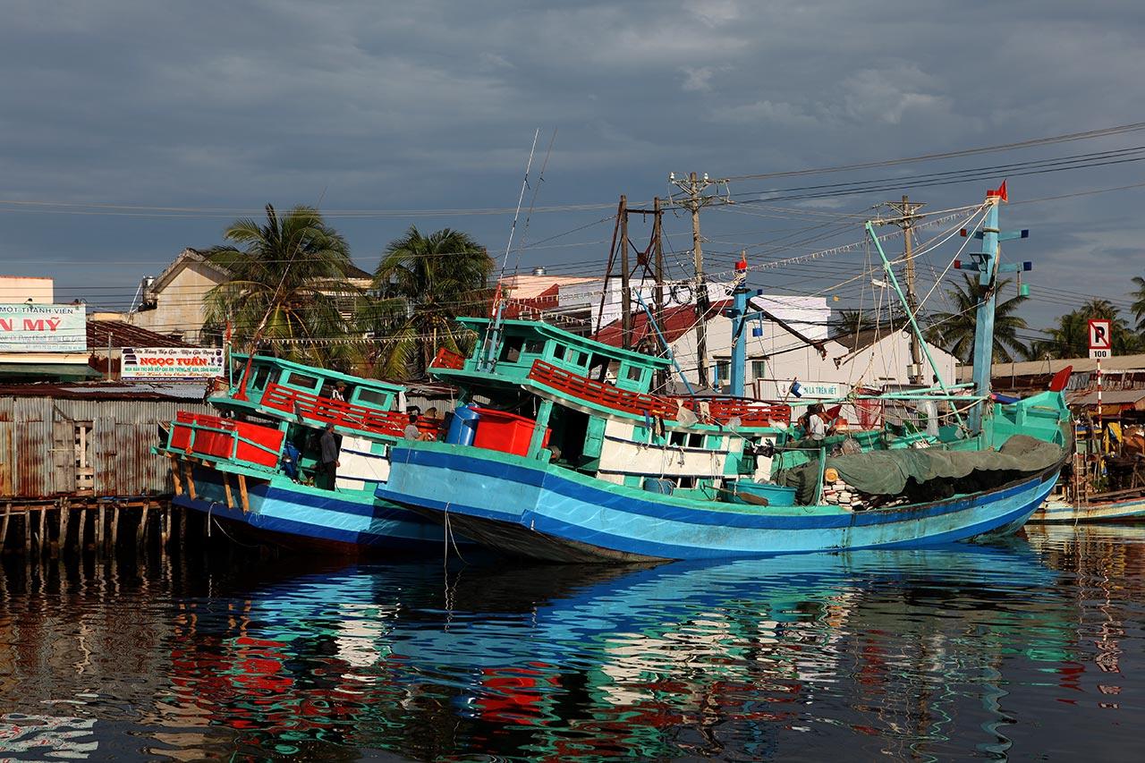 Вьетнамские рыболовецкие суда