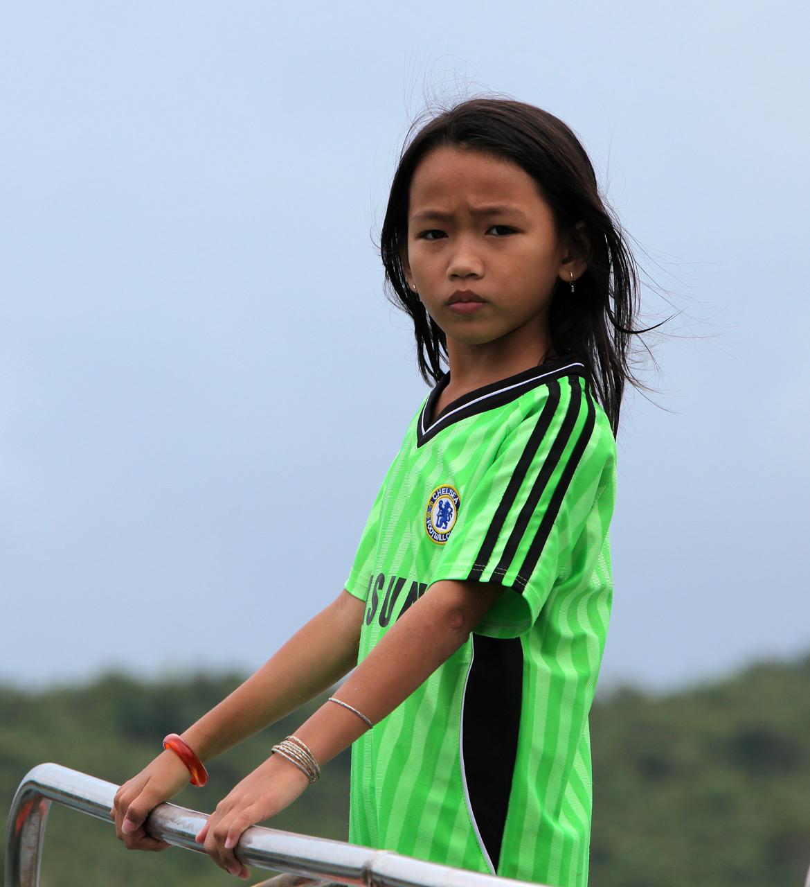 Вьетнамская девочка
