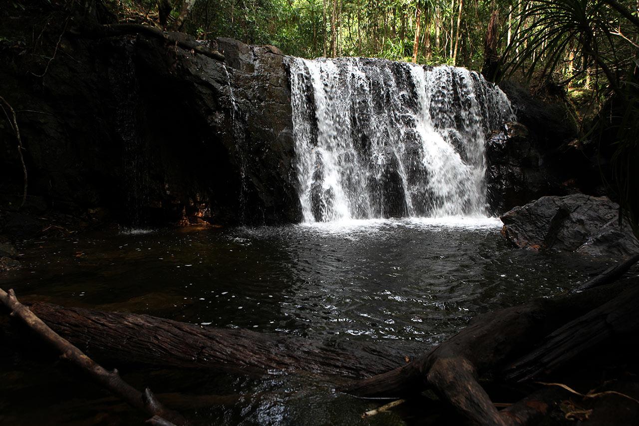 Заповедный водопад