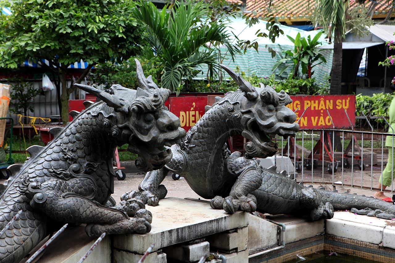 Вьетнамские драконы на страже китайского барыги