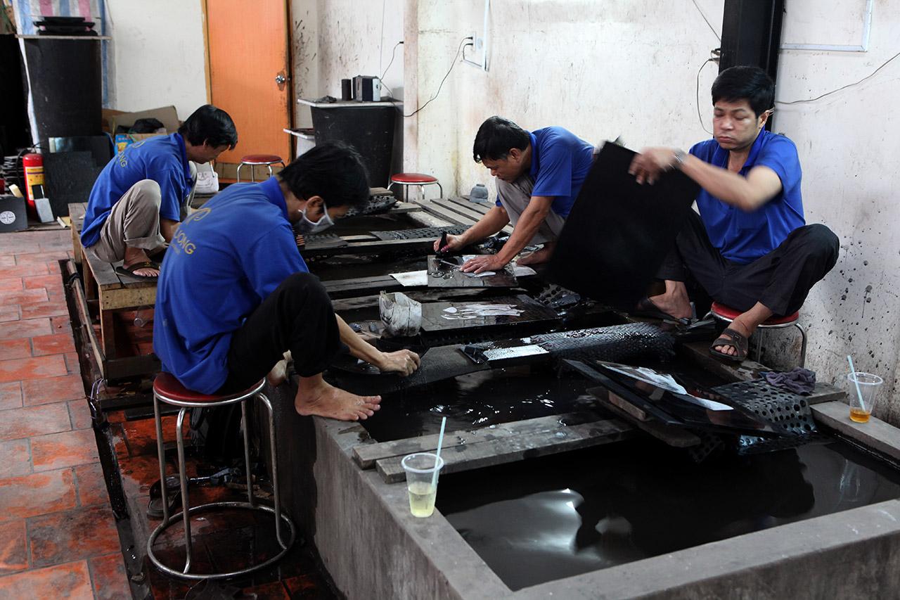 Производство лаковых коробочек