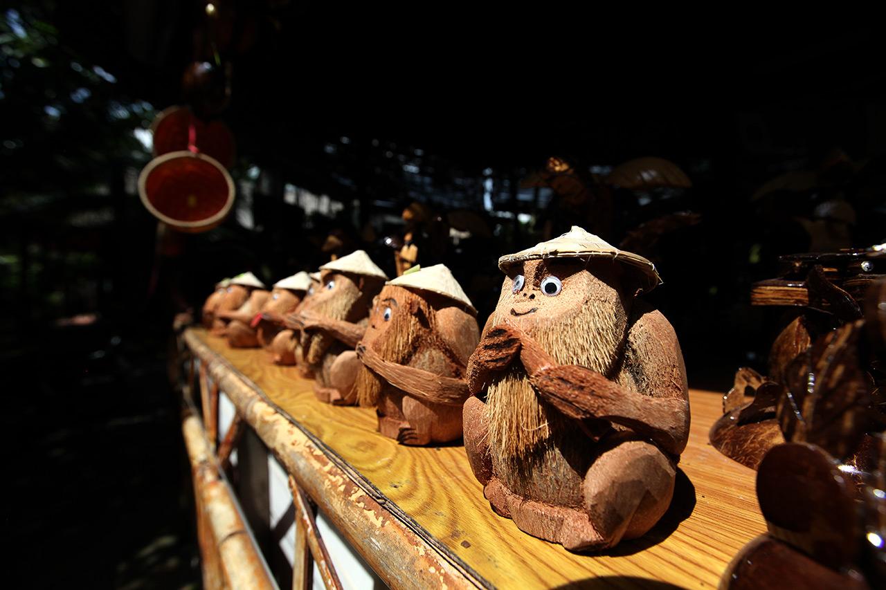 Мартышки из кокосов